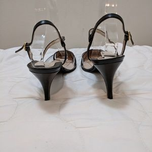 Rene Mancini Shoes - Rene Mancini leather and pvc strappy sandals